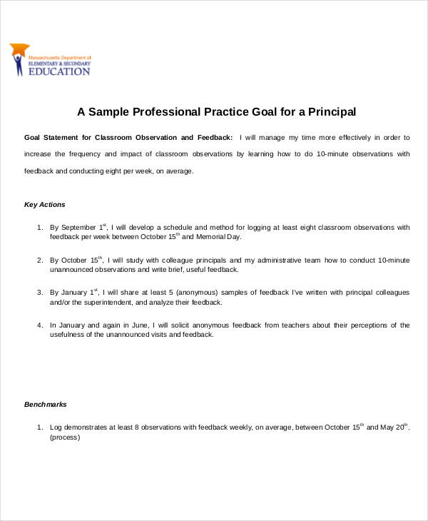 Smart Goals Examples  Samples  Pdf Doc