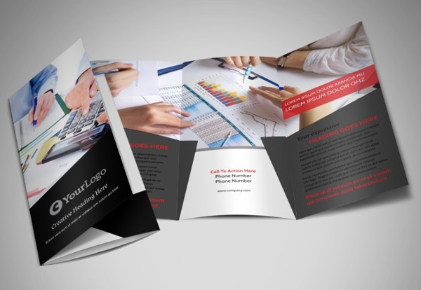 small business tri fold brochure