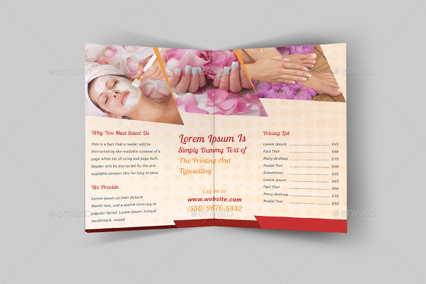 -Spa Salon Brochure