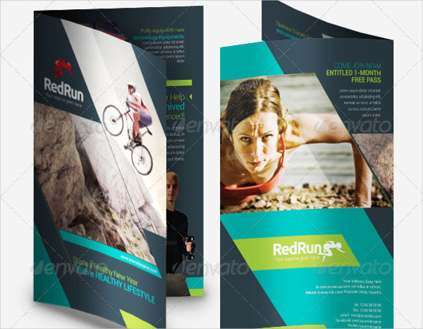 sports fitness brochure