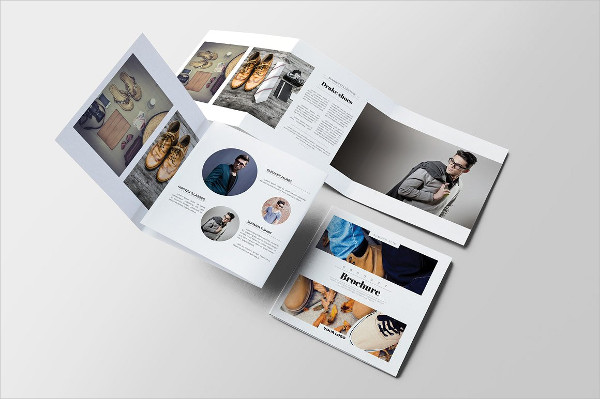 square product advertising brochure