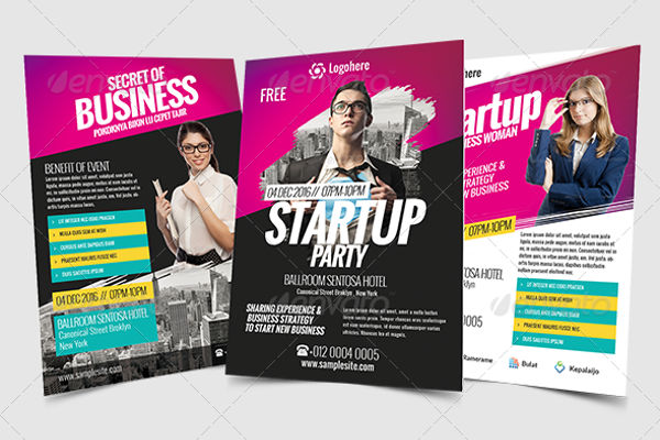 startup business event flyer1