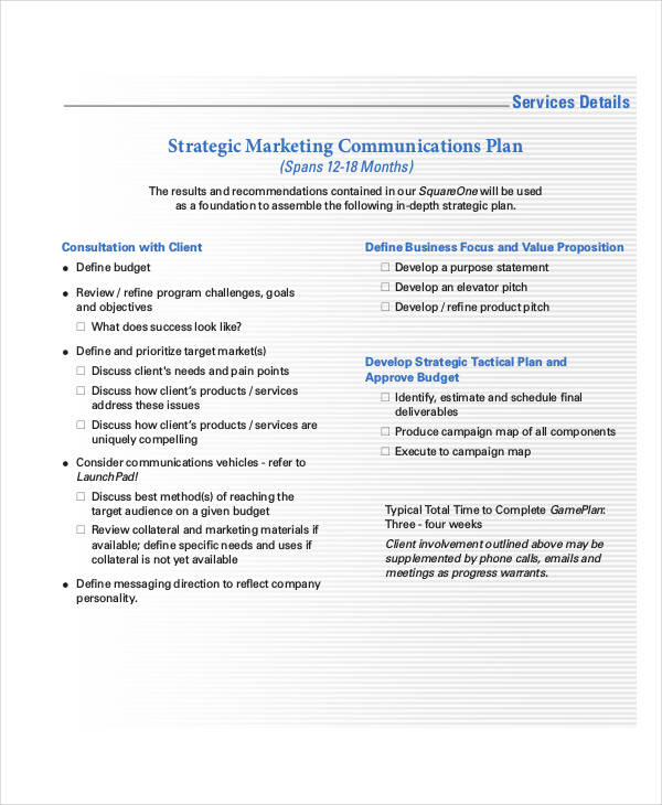 45 Communication Plan Examples Samples Pdf Word Examples