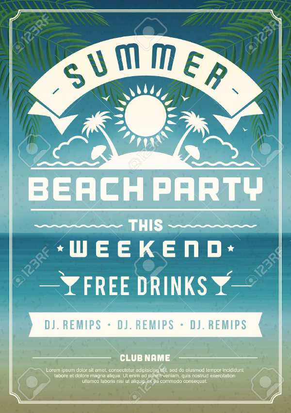 Summer Event Flyer  Event Flyer Examples