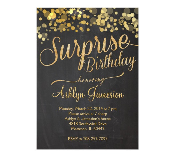 53 Party Invitation Examples – Birthday Dinner Party Invitations
