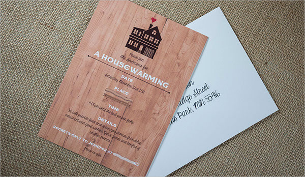 surprise housewarming party invitation