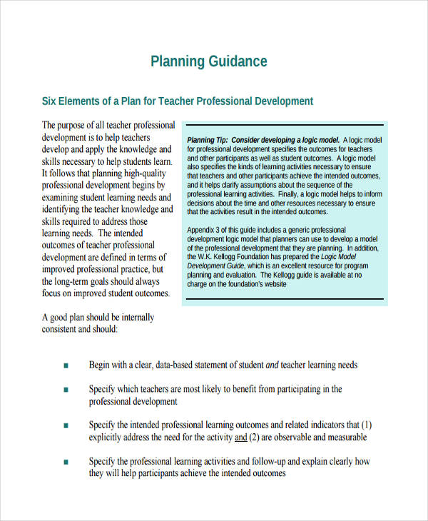 56+ Development Plan Examples & Samples - PDF, Word, Pages
