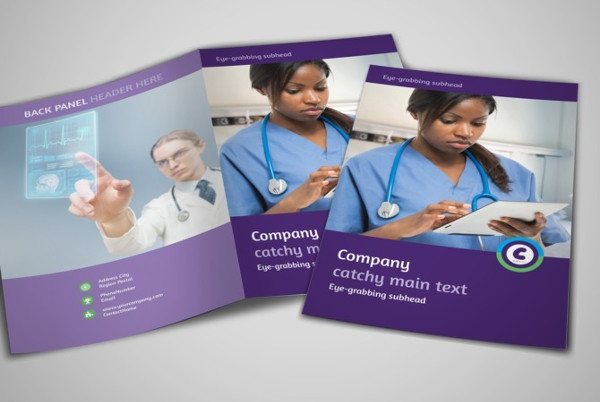 technology bi fold brochure