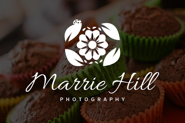 -Transparent Photography Business Logo