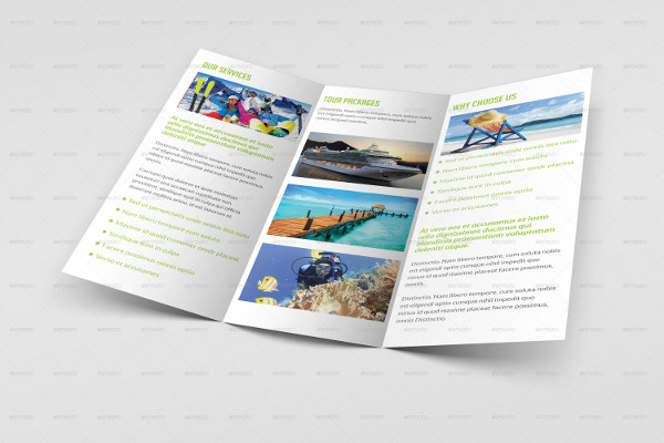 travel tourism brochure