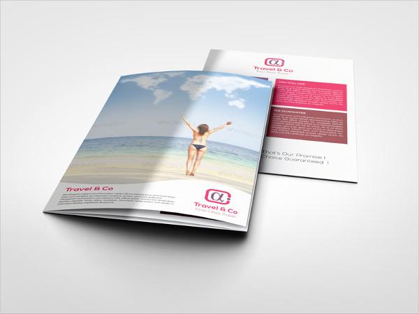 Travel Tourism Tri Fold brochure