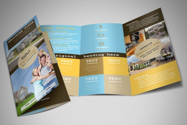 Tri Fold Real Estate Agent Brochure