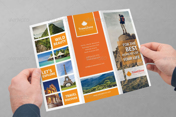 -Tri Fold Travel Brochure