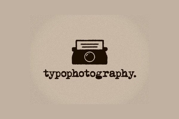 typography vintage photography logo