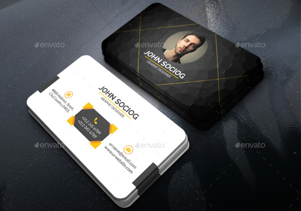 unique personal business card