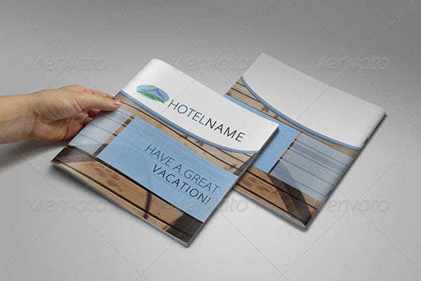 vacation bi fold brochure