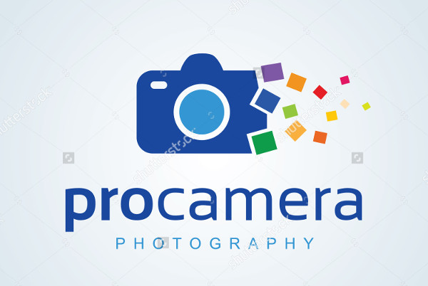 -Vector Camera Photography Logo