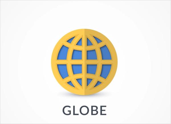 vector flat company logo