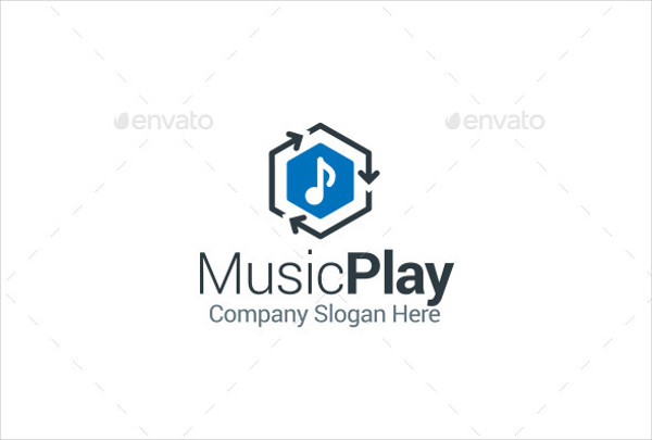 vector music logo example
