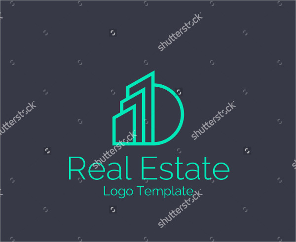 vector real estate logo