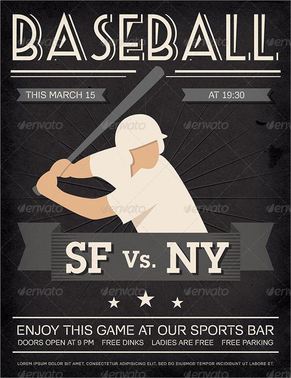 vintage baseball poster4
