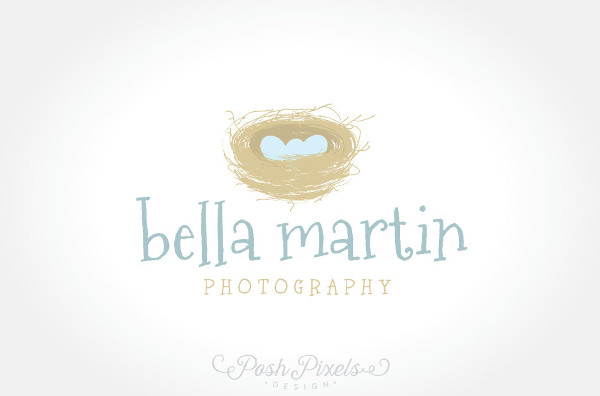 -Vintage Newborn Photography Logo