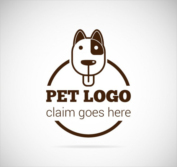 Vintage Pet Business Logo
