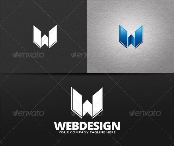 web design logo example