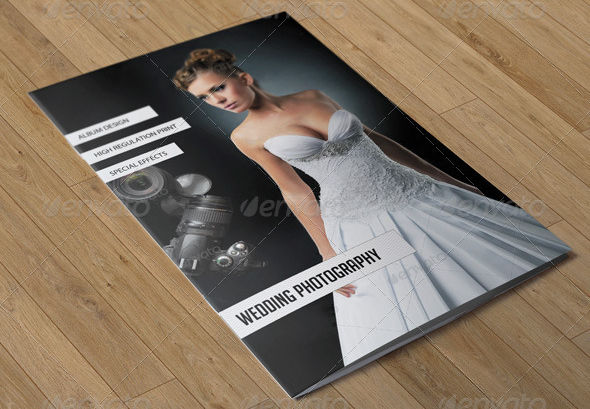 wedding bi fold brochure