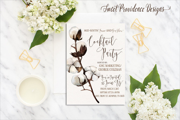 wedding cocktail party invitation2