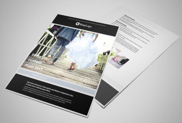 -Wedding Event Planner Flyer