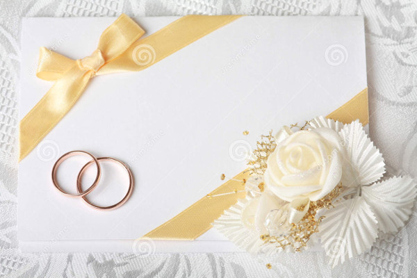 wedding invitation blank card