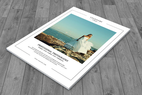 -Wedding Photography Brochure