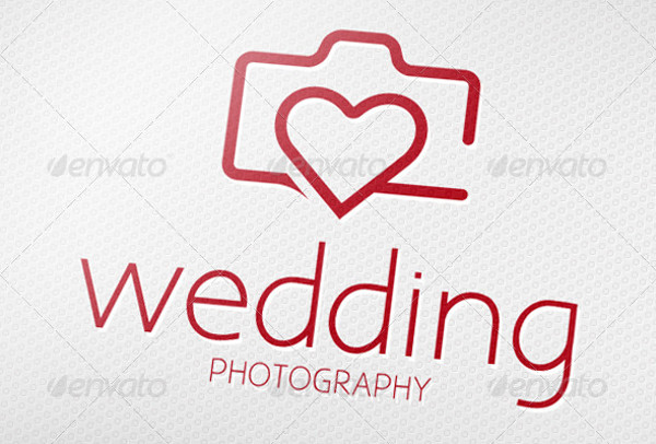 -Wedding Photography Logo PSD