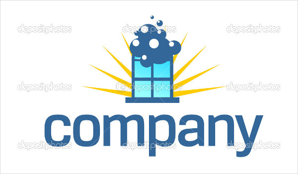 window cleaning company logo