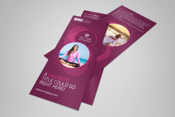 yoga fitness brochure