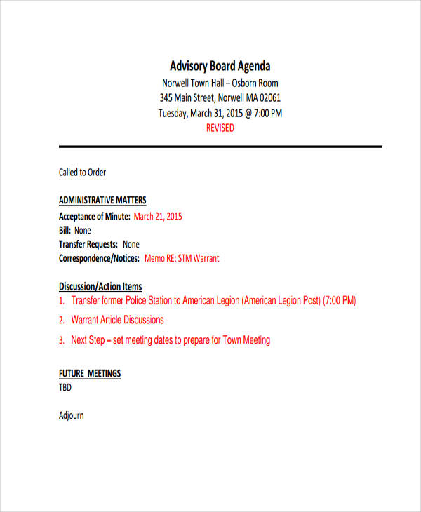 town hall meeting agenda template. Black Bedroom Furniture Sets. Home Design Ideas