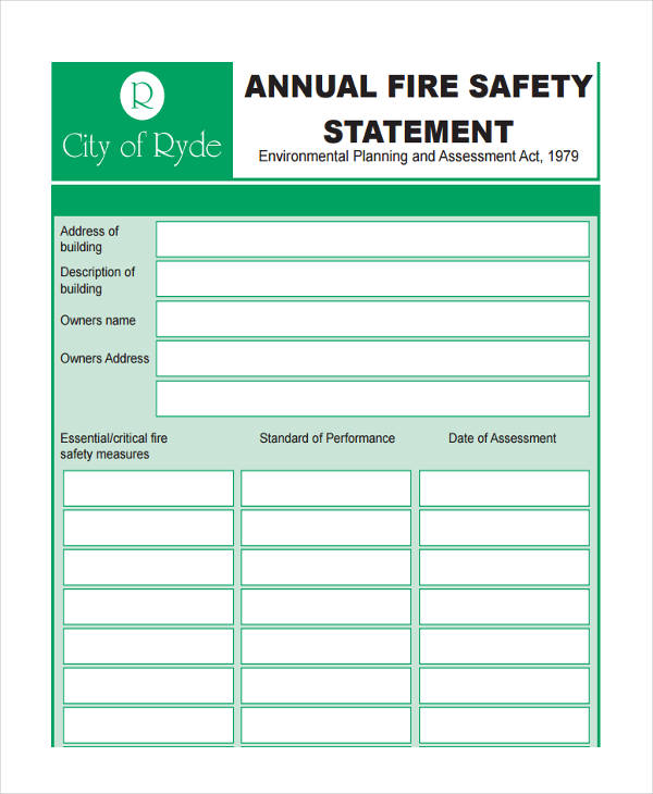fire safety project report pdf