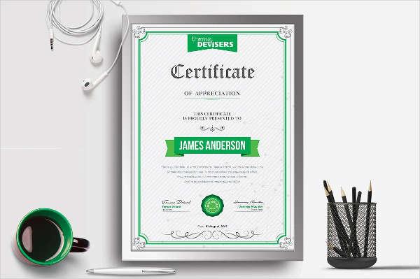 appreciation certification example1