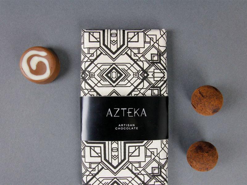 artisian chocolate branding