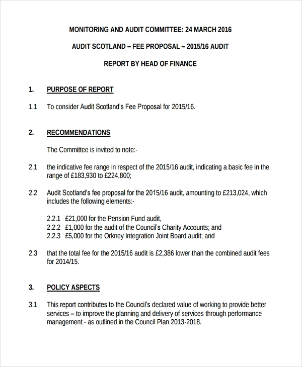 audit fee proposal1