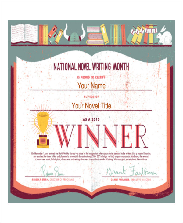 13+ Award Certificate Examples and Samples - PDF, Word, Pages