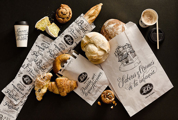 Bakery Product Packaging Design