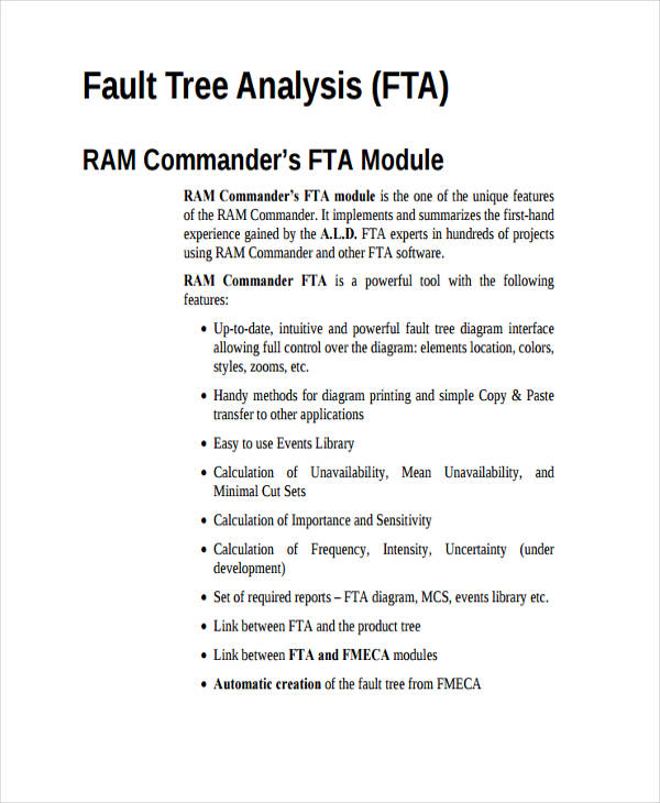 basic fault tree