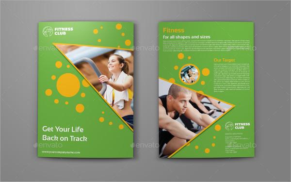 bi fold fitness brochure
