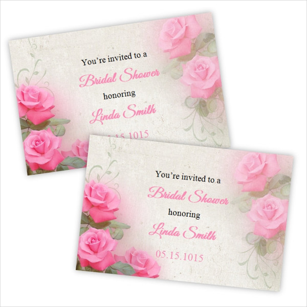 bridal shower invitation postcard2