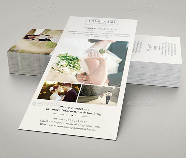 Business Event Rack Card
