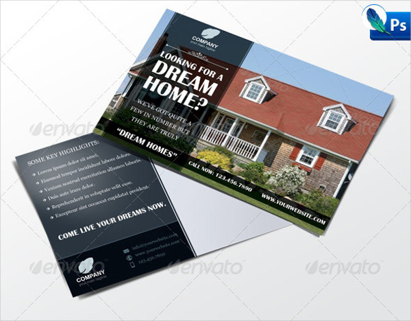 Business Marketing Postcard