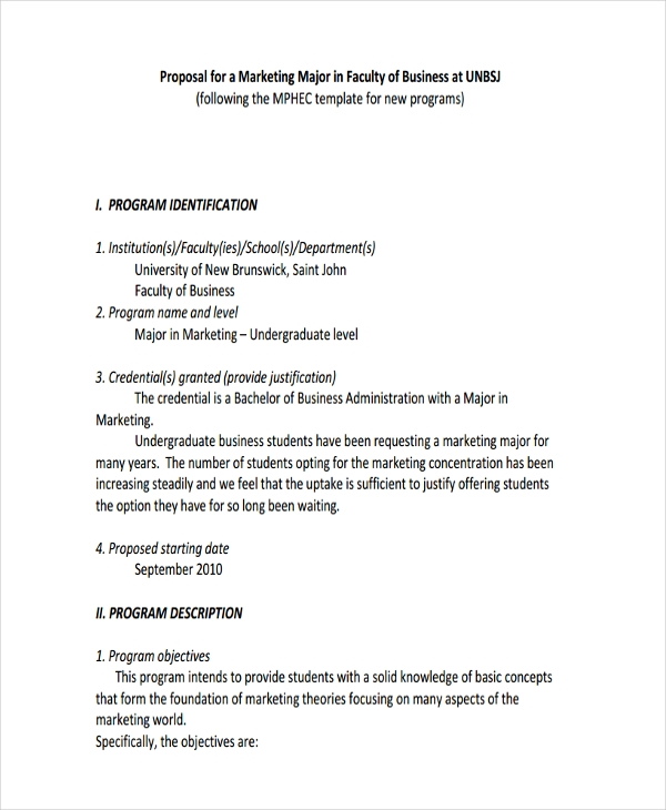 business marketing proposal2