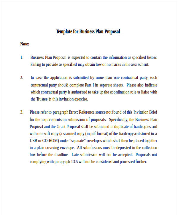 business plan proposal2